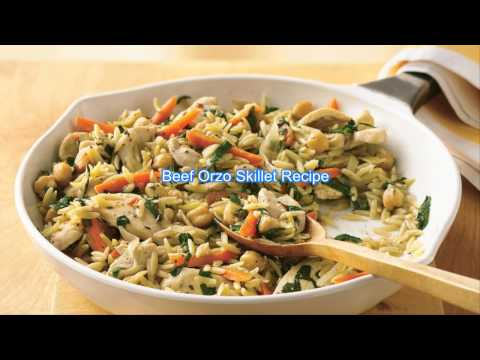 Beef Orzo Skillet Recipe
