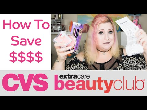 How to Save Money on Makeup | CVS Beauty Club Mini Drugstore Haul