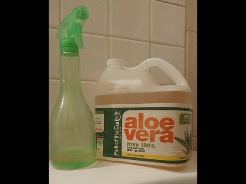 Aloe Vera Juice Grows Your Hair!!!
