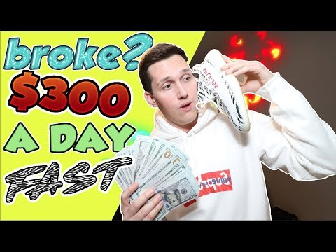 How To Make $300 A Day FAST! [Even If You're BROKE]