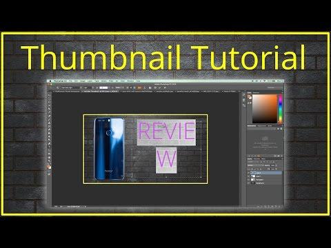 Create professional Thumbnails! | Tutorial | TechCentury
