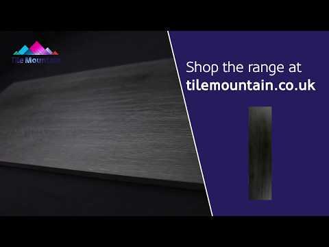 Quick Look: Madeira Black Matt Natural Wood Effect Floor Tile (436120) - Tile Mountain