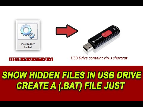 How to show hidden file in your hard drive