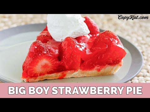 Big Boy Stawberry Pie
