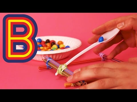 How to make a Pencil Catapult | Beano Makes