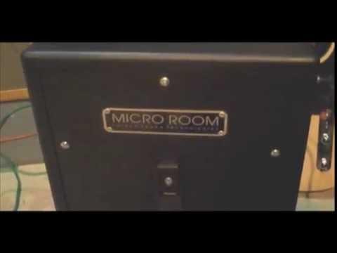 Micro Room Silent Speaker Cabinet vs Marshall 4X12 .. isolation cab iso sound proof
