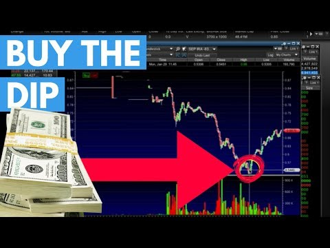 How To Dip Buy Strong Penny Stocks | How I Made $500 In One Hour [Learn The Patterns]