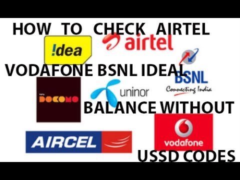 How to Check AIRTEL VODAFONE IDEAL BSNL Balances without USSD codes using TRUE BALANCE(in hindi)