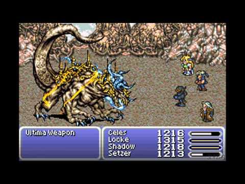 Final Fantasy VI Advance - Ultima Weapon