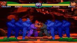 Mugen Street Fighter Kof Style Ryu Ken Sakura Vs