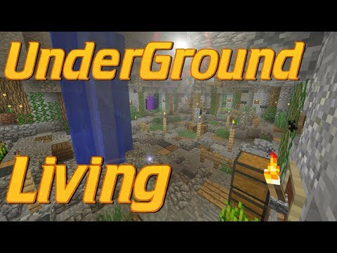 How to Make an Underground Base in Minecraft | Minecraft Cave Base | Lets Build Tutorial
