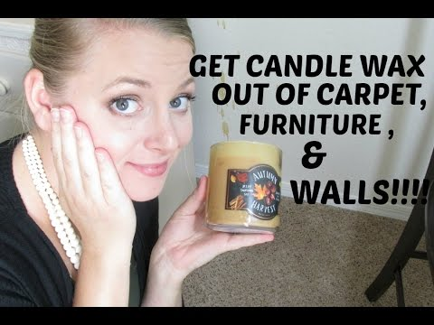 WAX CATASTROPHE!! | GET WAX OUT OF CARPET!!