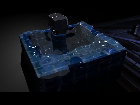 Creating water in Maya 2015 with Bifrost