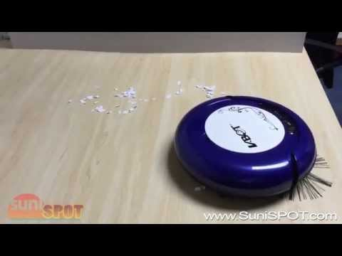 New Smart Robot Vacuum Cleaner Automatic Dust Sweeping & Mopping VBOT Hard Floor iRob