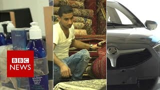 The everyday products hit by Iran sanctions - BBC News