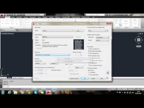 Autocad 2D 2014 (for beginners): How to convert dwg to JPG