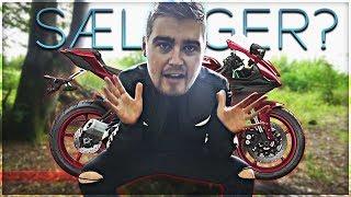 Jeg sælger min motorcykel...