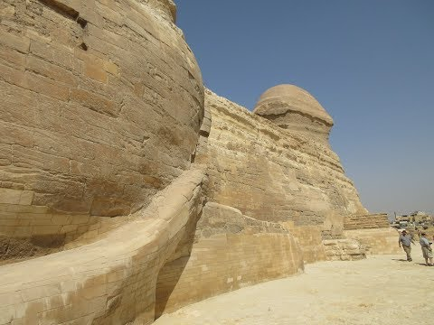 Up Close And Personal With The Great Sphinx At Giza March 2018