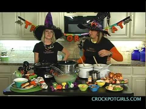 Crock Pot Monday - Halloween Party Recipes (Crock Pot Girls)