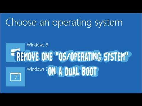 cara hapus OS dualboot