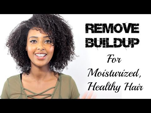 CLARIFY, CHELATE & DETOXIFY YOUR HAIR to remove buildup