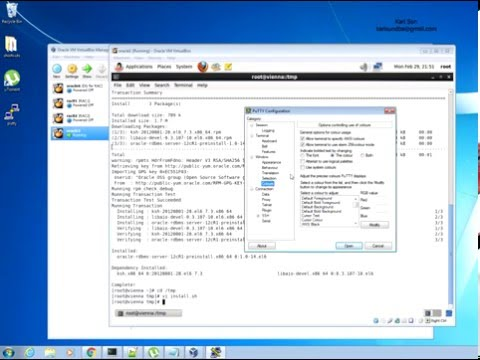 Install 12C RAC database with ASM on Linux Oracle VM