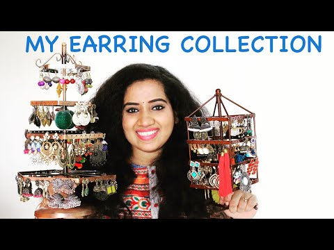 MY JEWELLERY (EARRING) COLLECTION From Amazon, Club Factory, Commercial Street Bangalore