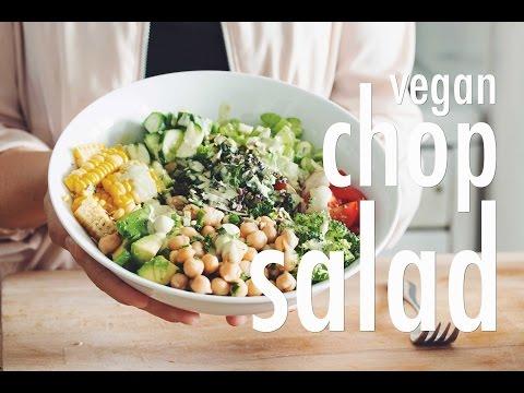 VEGAN CHOP SALAD | hot for food