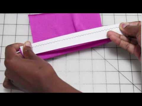 Sew Knits Without a Serger: Zigzag Stitch for Sewing Elastic