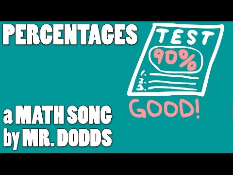 Colin Dodds - Percentages (Math Song)