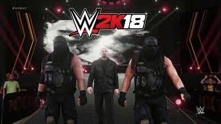 WWE 2K18 Authors of Pain Entrance