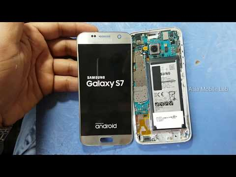 Samsung S7 glass replacement full guide