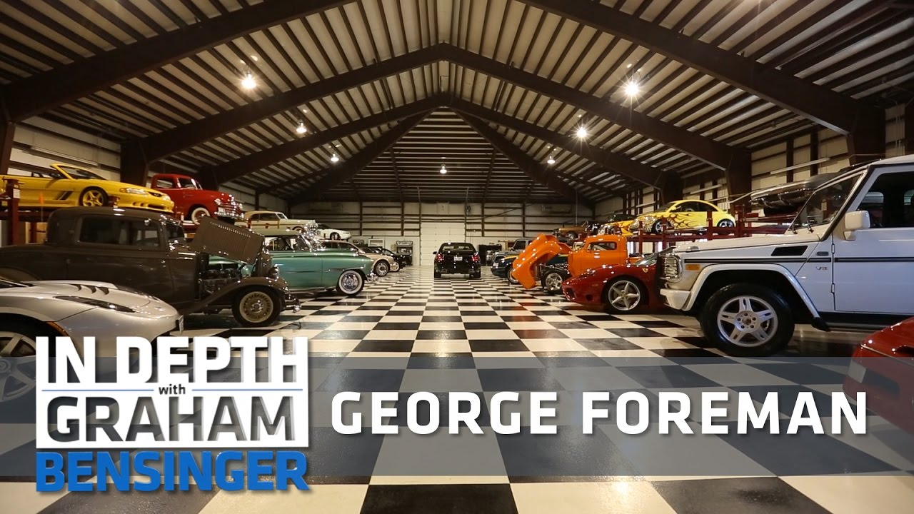 George Foreman: My massive car collection at home