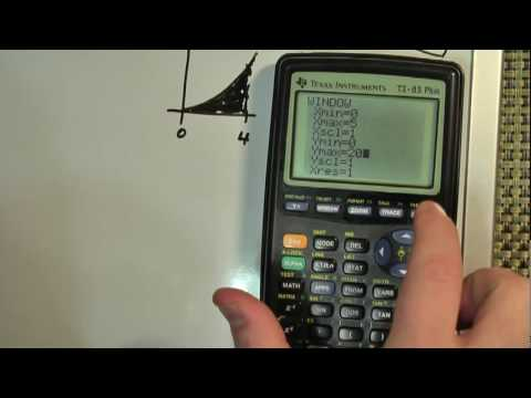Definite Integral on TI-83