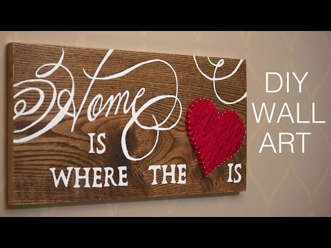 DIY Wall Art | Home Decor Project