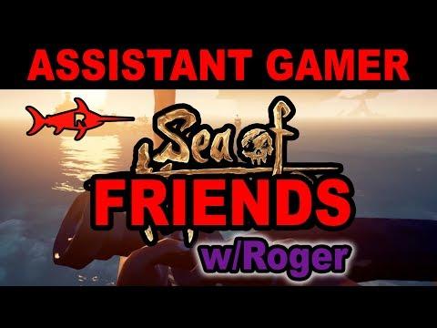 Sea of FRIENDS - Assistant Gamer -  Red Swordfish Studios