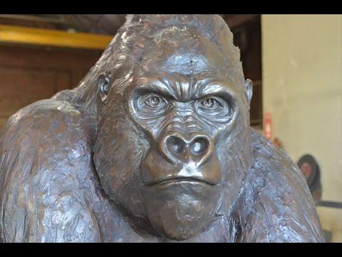 The Gorilla Statue