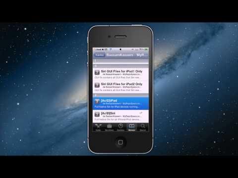 Instala Siri en iOS 5.1.1 iPod Touch 4G/3G iPhone 4/3Gs y iPad 1/2