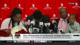 Zion Williamson commits to Duke University | #2 Prospect in Class 5 Star PF