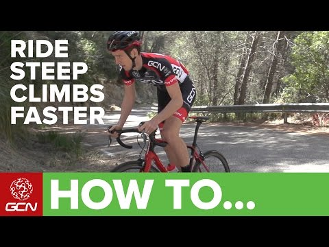 How To Ride Steep Climbs Faster | GCN's Cycling Tips