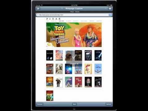 Webpage Capture iPad