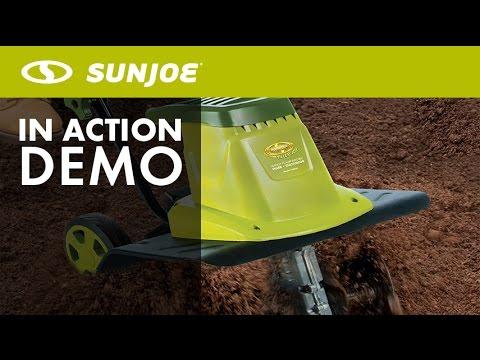 TJ603E - Sun Joe Tiller Joe 16-inch 12 AMP Electric Garden Tiller/Cultivator - Live Demo