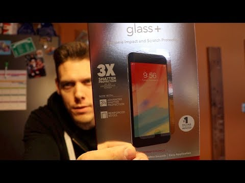 Zagg Screen Protector Review.  Zagg Warranty Replacement.  Is it worth it?