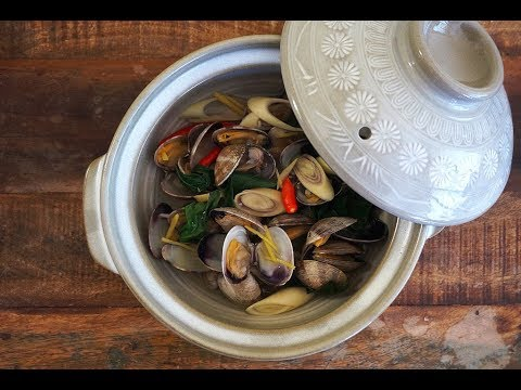 Clams In Ginger & Lemongrass Broth {Flavours Of Asia}