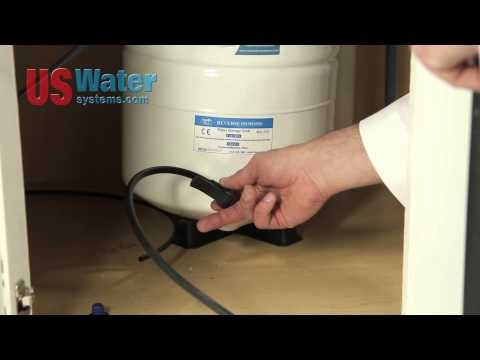 How-To: Repressurizing a Reverse Osmosis (RO) System