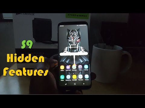 Galaxy S9 or S8 on Android  Oreo New Hidden Features