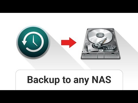 macOS: Time Machine Backup To Any NAS