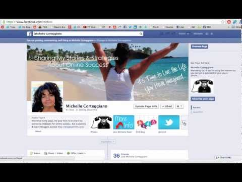 How to Change the Thumbnail on Facebook Tabs by @mcort