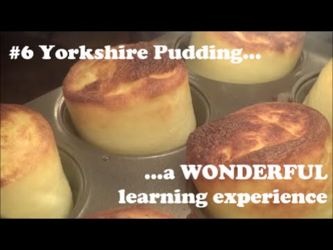 Halogen Oven Cooking #6 - Yorkshire Pudding