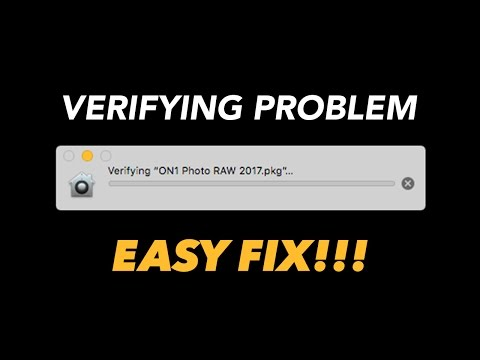 How to Fix the Verifying Problem in Mac